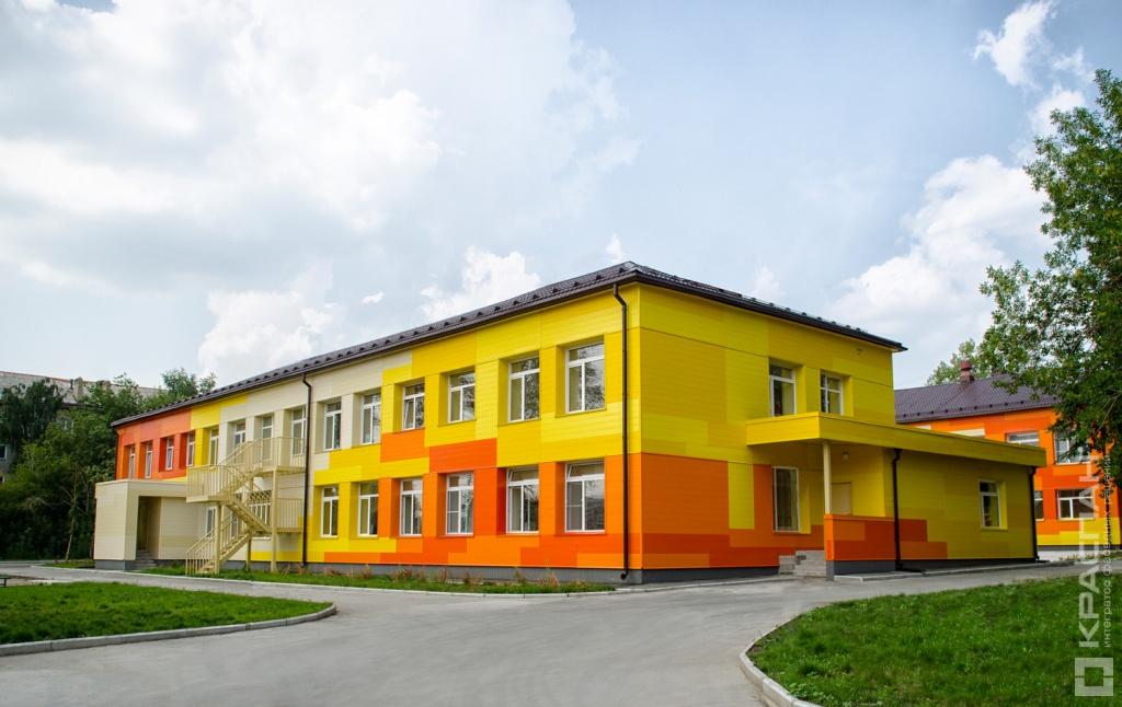 Фасады детских садов фото